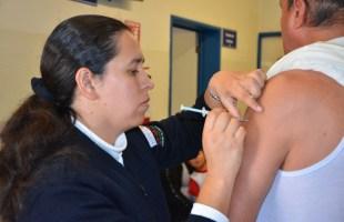 En el corte de influenza, la cifra llegó a 231 casos de influenza y se han presentado 10 decesos de pacientes que no contaban con antecedente de vacunación