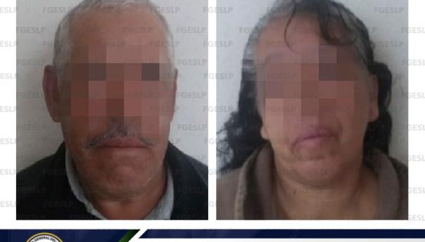 FGE captura a una mujer y un hombre por homicidio ocurrido en cerro de San Pedro