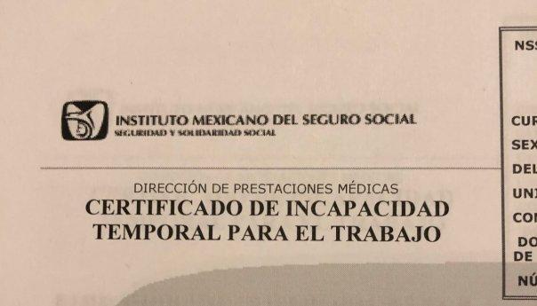 Aprueba Consejo Técnico del IMSS permiso para facilitar trámite de incapacidad en línea por contingencia de COVID-19