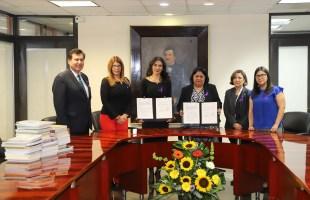 IMES y Supremo tribunal de justicia, acordaron acciones de colaboración institucional