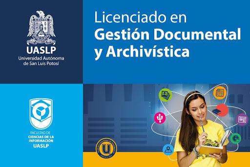 Amplio campo de acción tiene la Licenciatura en Gestión Documental y Archivística de la UASLP