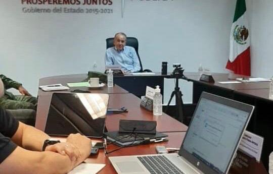 JMCL sostiene reuniones de seguridad e integrantes de gabinete