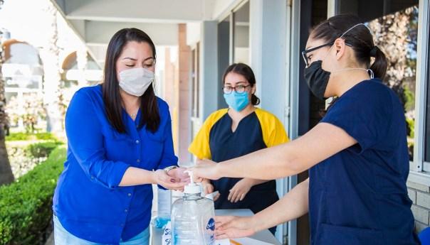 UASLP instala filtros sanitarios de acceso a sus instalaciones