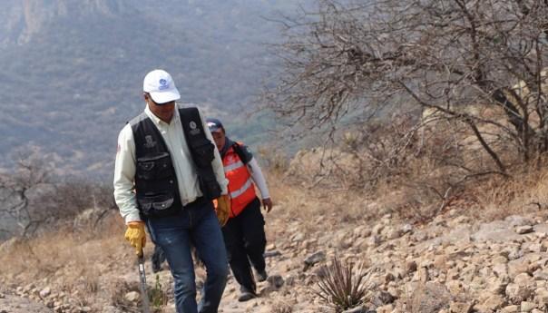 Protección civil de la capital ayuda a combatir incendios de la zona media