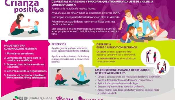 Fomenta CJM prácticas de crianza positiva con niñas, niños y adolescentes