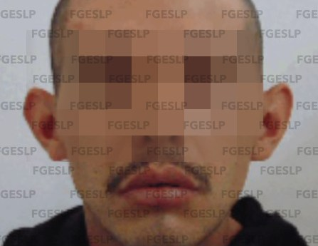 FGE de SLP cumplimenta orden de aprehensión a hombre acusado de disparar a dos personas