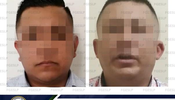 FGE consigue vinculación a proceso de dos acusados de robo a cuentahabiente en SGS
