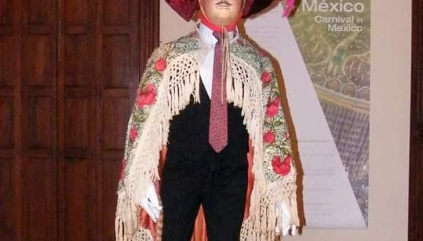 Máscaras de la Danza de la Culebra en el Museo Nacional de la Máscara