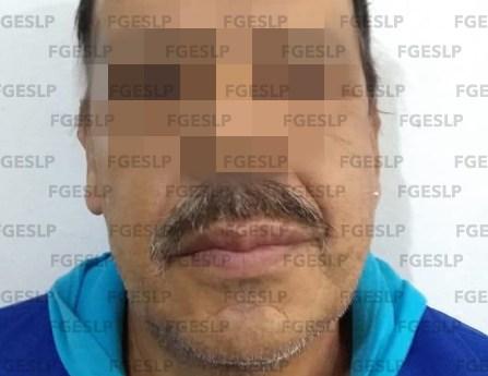En SLP fiscalía detiene a sujeto por probable violación a una menor de edad