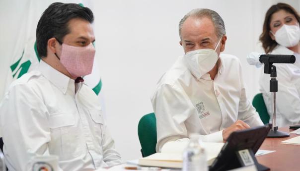 IMSS y Gobierno de San Luis Potosí refrendan colaboración ante emergencia sanitaria de COVID-19