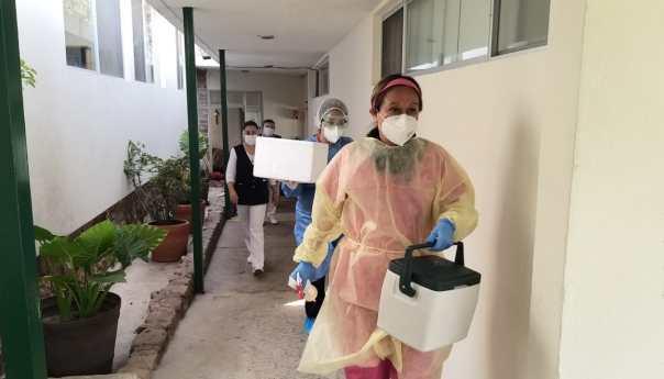 El instituto geriátrico Dr. Nicolás Aguilar continúa trabajando y aplicando medidas preventivas para minimizar riesgo de contagio por covid-19