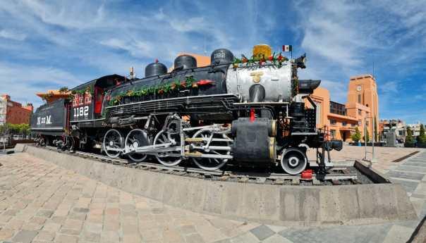 Estación en casa presenta antecedentes históricos del museo del ferrocarril