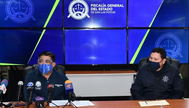 Fiscalía de SLP detalla hechos ocurridos en ciudad valles