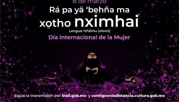 INALI conmemora con actividades diversas el día internacional de la mujer