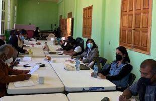 El INALI y el consejo de la nación Ngiba / Ngigua realizan reunión de planificación lingüística