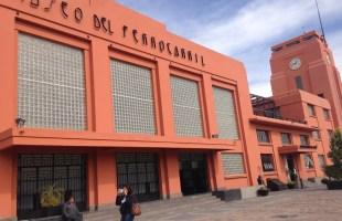 Pequeñas dramaturgas y dramaturgos en el museo del ferrocarril