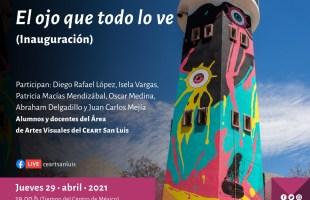 Presentarán intervención mural en el centro de las artes