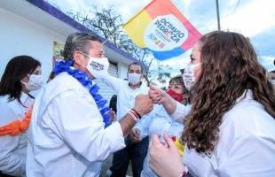 Octavio Pedroza cumple 30 días con las mejores propuestas para SLP