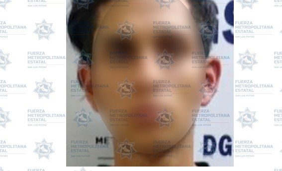 Sujeto es detenido con un arma prohibida