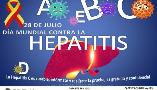28 de julio, día mundial contra la hepatitis