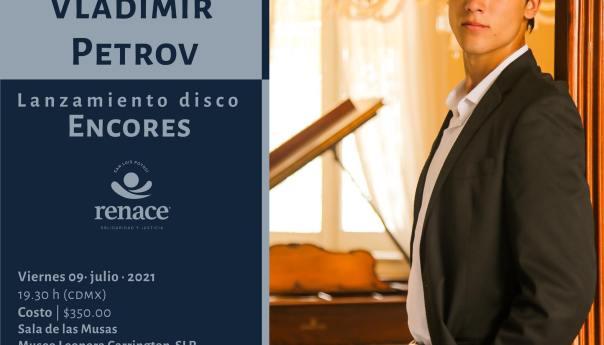 """Vladimir Petrov presenta su nuevo álbum """"Encore"""""""