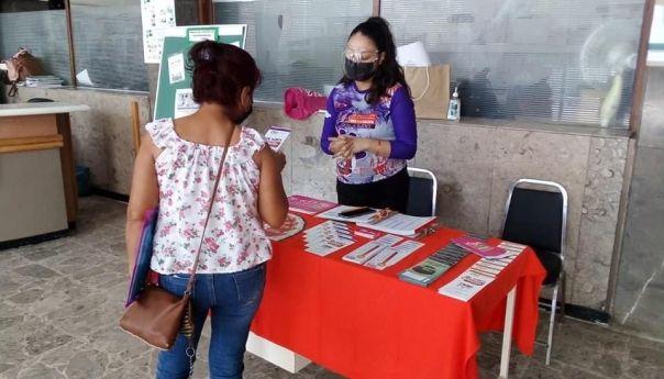 IMES brindó información sobre violencia hacia la mujer en unidad de medicina familiar de SGS