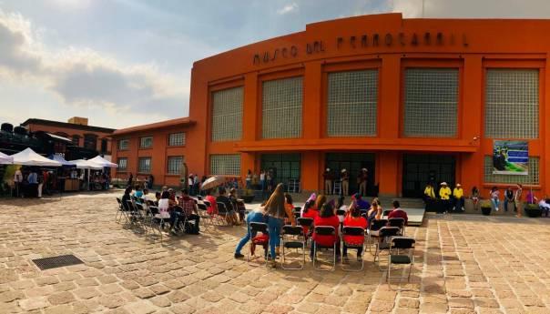 Cuenta cuentos y teatro en el Museo del Ferrocarril