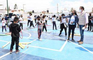 Entrega alcalde obras deportivas y áreas rehabilitadas en la zona oriente