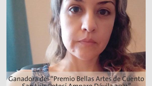 Dan a conocer ganadora del premio bellas artes de cuento SLP amparo DÁVILA