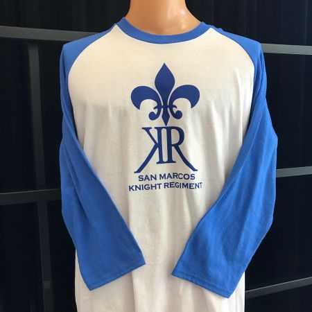Blue KR Baseball T-Shirt