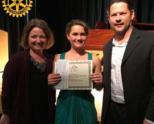 San Marcos Bands student Isabelle Jamois wins Rotary International Youth Instrumental Contest