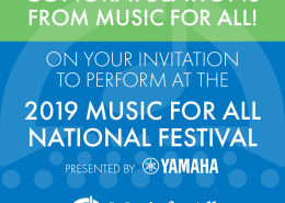 In March (2019), the San Marcos High School Wind Symphony will be performing at the Music For All National Festival in Indianapolis, Indiana. The Wind Symphony is one of only 12 chosen from across the nation this year to perform as a premier ensemble at the festival, moving our concert program onto the national stage for the first time. Our Percussion Ensemble will also be performing at the Music for All National Percussion Festival, making their sixth appearance.