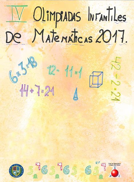 IV Olimpiadas Infantiles De Matemática 2017