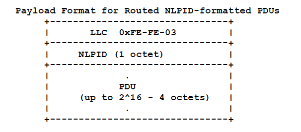 Routed NLPID-formatted PDUs