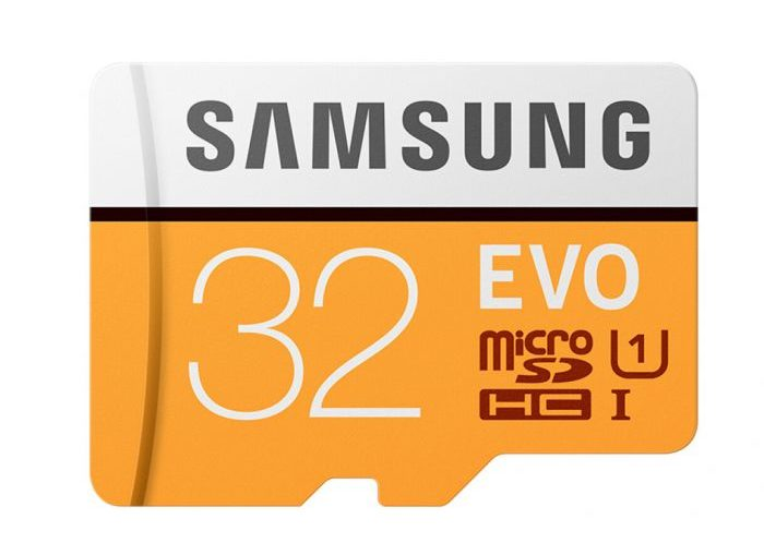 $6.59 (€5.66) for SamSung EVO 32GB Micro SDHC Class 10 UHS-I 95MBs Memory Card