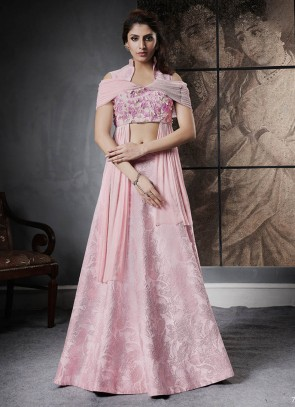 Beauteous Silk Jacquard Wedding Lehenga