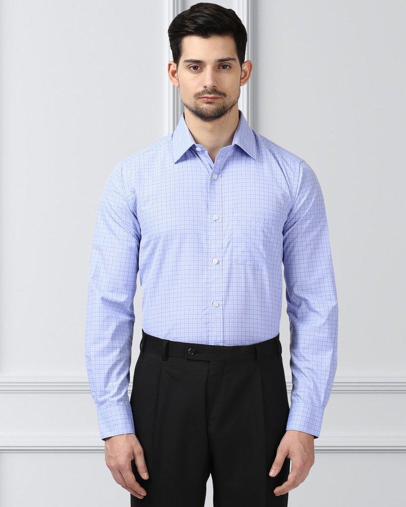 Next Look Dark Blue Regular Fit Shirt