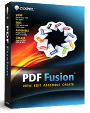 Corel PDF Fusion, The all-in-one PDF creator