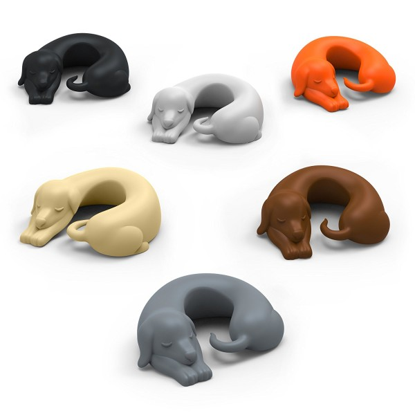 Get 41% discount on Set of 6 WINER DOGS Dachshund Dog Drink Markers