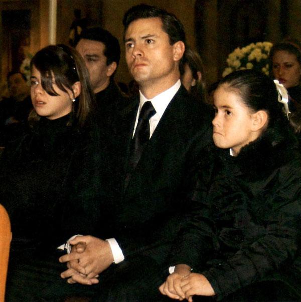 Rostros de Monica Pretelini Esposa Fallecida de Peña Nieto
