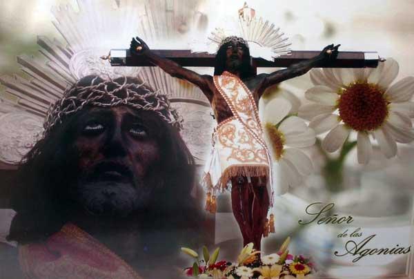 Imágen Exclusiva del Señor de las Agonías en la Feria de Juchitepec 2011 (2/2)