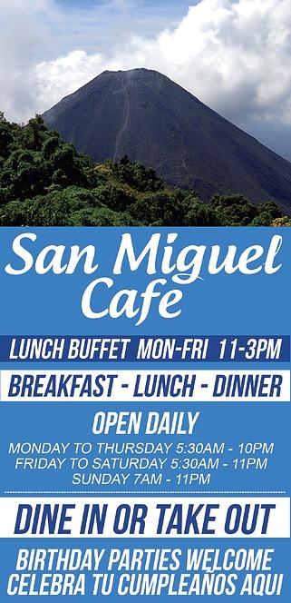 Visit San Miguel Cafe