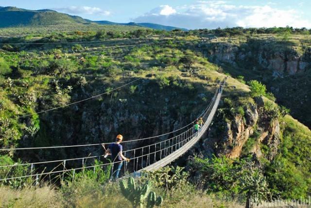 Turismo de Aventura en San Miguel de Allende.