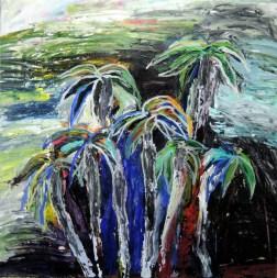 Seven Palm Trees