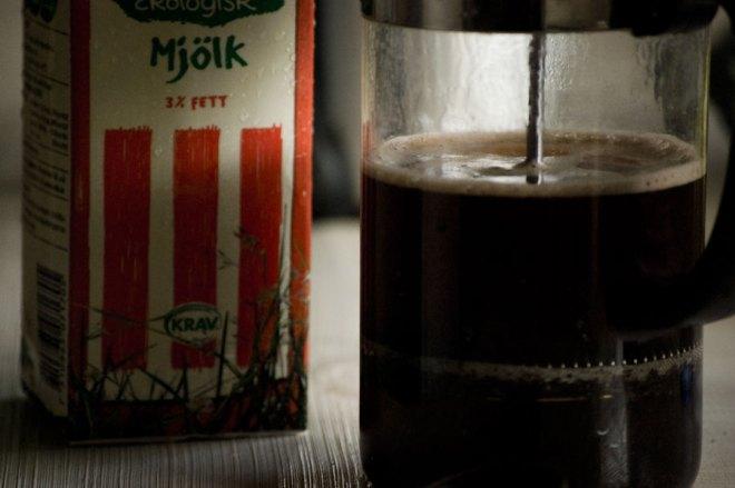 Men jag gillar tanken av att mitt kaffe inte är så oprocesserat som möjligt.