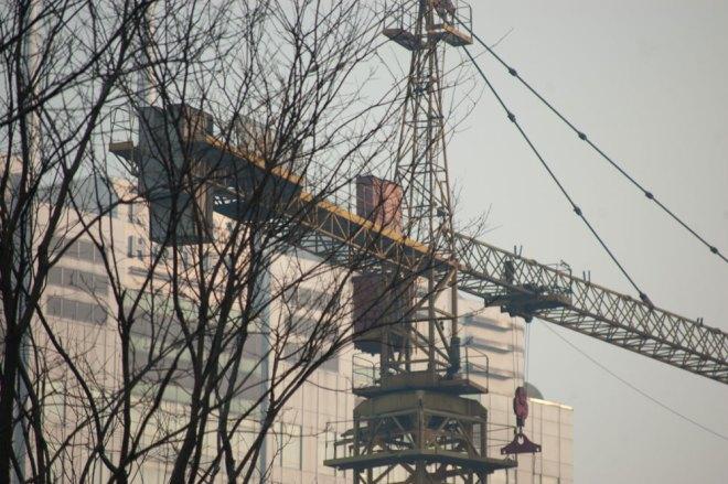 Kina bygger väldigt mycket just nu.
