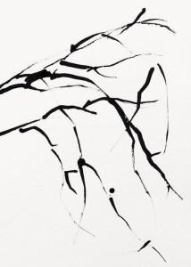 Roads, 37 x 26,2 cm, inkt op papier