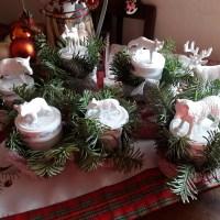 Vintage: Weihnachten im Wald