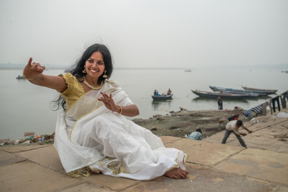 Hand Dancer on the Ganges
