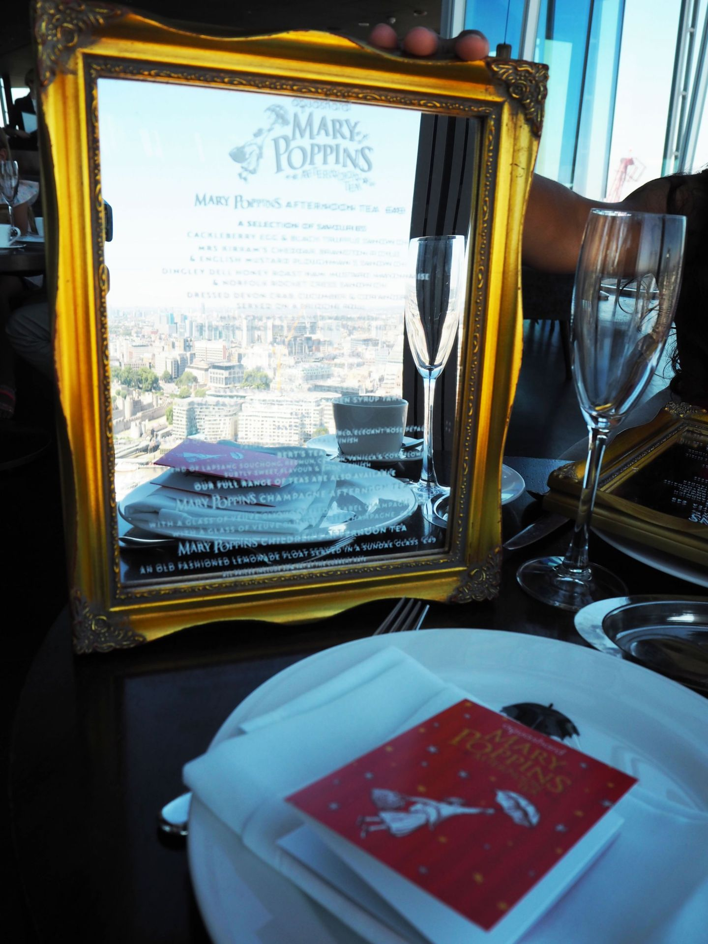 Mary Poppins Afternoon Tea at Aqua Shard London